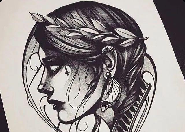 <b>欧美纹身手稿图片大全_欧美纹身推荐</b>
