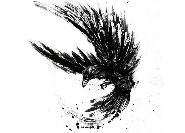 <b>这波黑灰色纹身有点怪异,但很酷!</b>